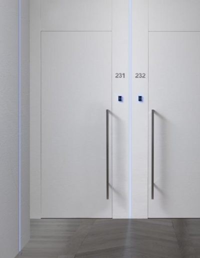 <strong>PLANA BOIS DOOR VERSION</strong> | White Veneered Texture | Contract Ospitality