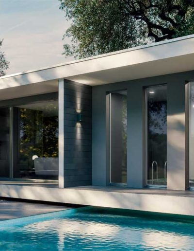 <strong>INVISIBLE</strong> | French Door | Silver Aluminium Anodized