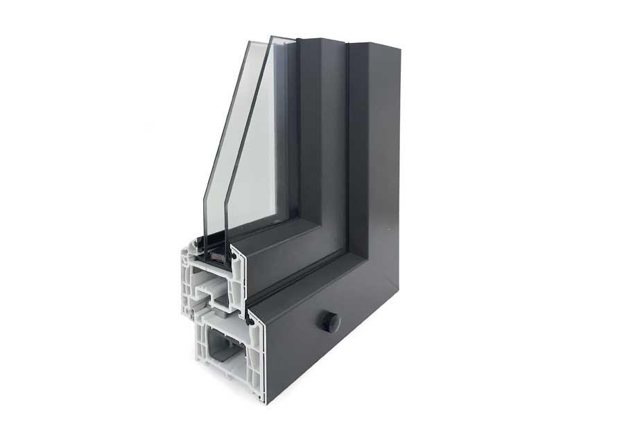 <strong>SOFT 76 ALU</strong> | Con Carter Esterno in Alluminio | PVC