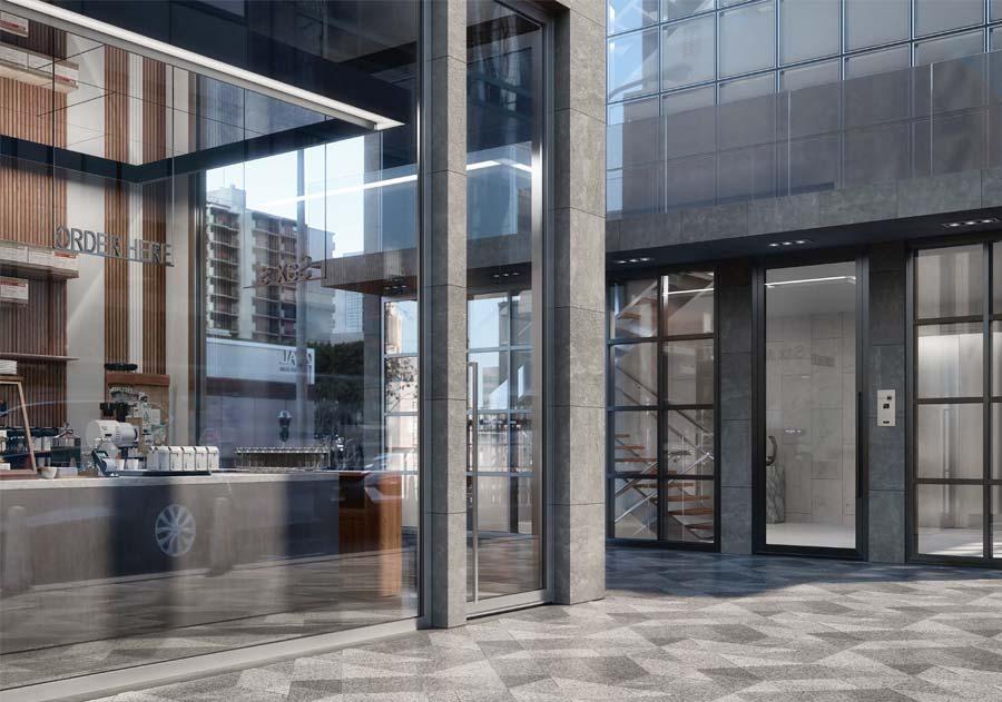 <strong>SHOP WINDOWS</strong> | Aluminium Verre | AluWindows
