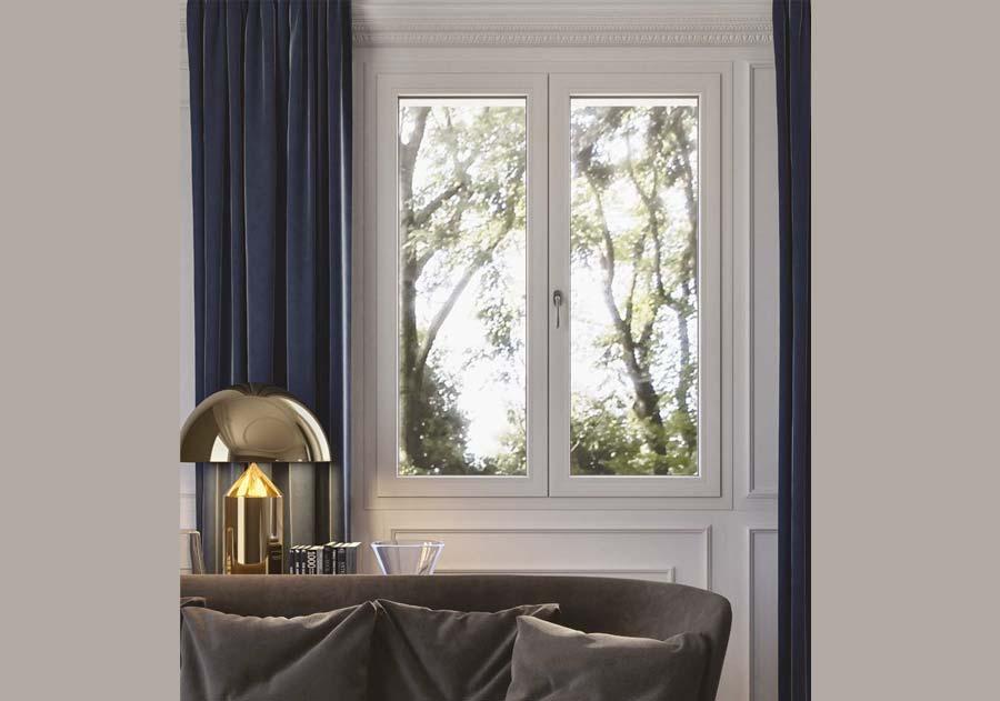 <strong>TENDER</strong> | Fenêtre à 1 Vantail | Garniture 32 mm | AluWindows