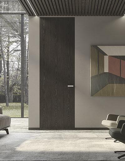 <strong>POLARIS MX</strong> | con Battiscopa Filomuro | ALPI Xilo 2.0 Flamed Grey curated by Piero Lissoni | Linear
